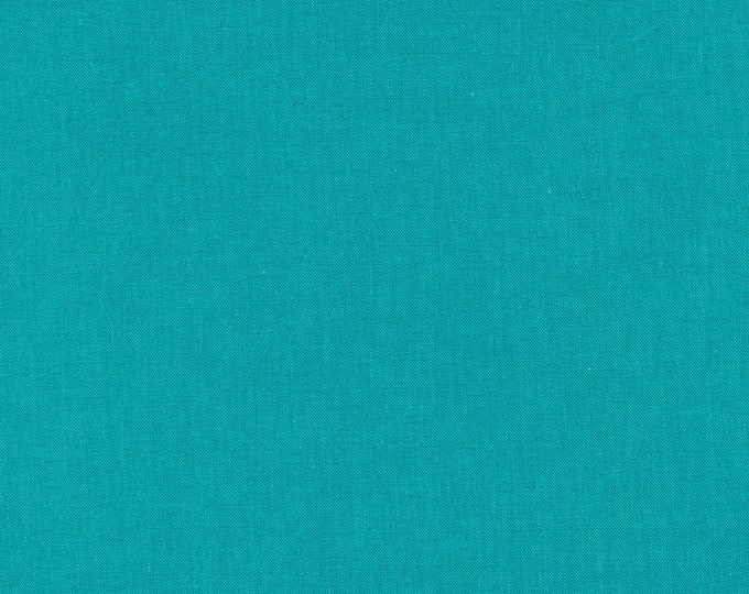 Cirrus Solids in Turquoise - 100% Organic Cotton by Cloud 9