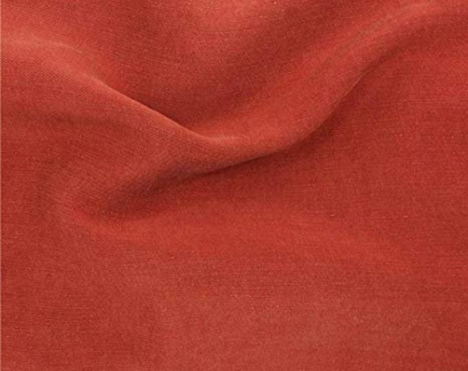 PRE SALE: Cupro Tencel Linen in Henna