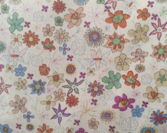 Liberty of London Tana Lawn - Delicate Floral Print BY THE 1/2 YARD