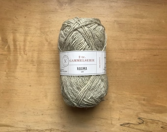 2 Ply Gammelserie in Light Gray by Rauma
