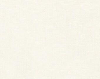Essex in PFD Bleached White by Robert Kaufman