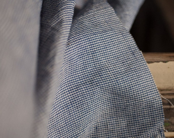 Frontier Blue EU Linen/Cotton by Merchant & Mills