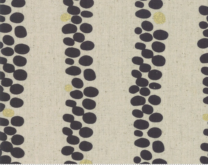 Trails in Linen Charcoal from the Chill Mochi Collection by Moda Fabrics