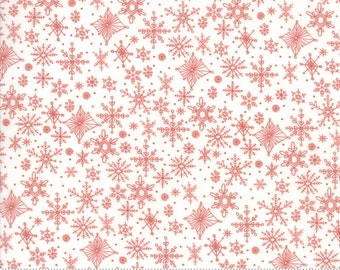 Snowflakes in Powder Slalom from the Tahoe Ski Week Collection by Moda