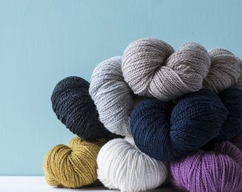 Scout - 100% Wool, 2-ply heathered - by Kelbourne Woolens