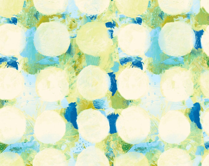 Okii Dot in Blue for the Once Upon a Time Collection for Cotton + Steel