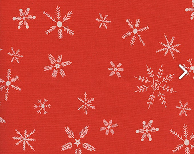 PRESALE: Flurry in Red by Alexia Abegg for Cotton + Steel