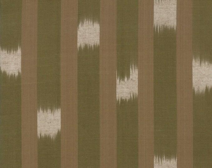 Boro Woven in Flax and Ivory by Moda Fabrics