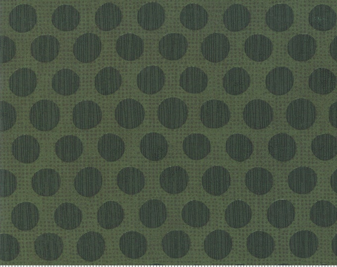 Eggnog in Winter Spruce from the Naughty or Nice Collection by Moda Fabrics