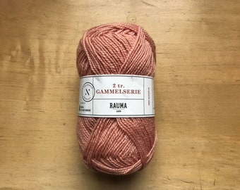 2 Ply Gammelserie in Pink by Rauma