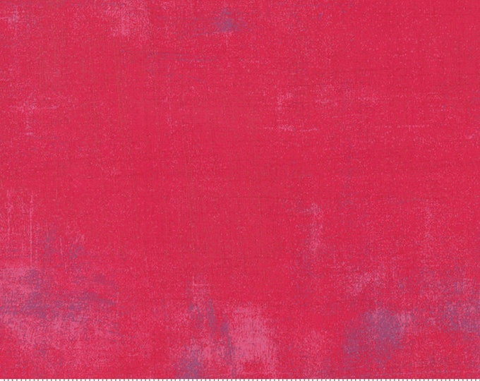 Grunge Basics in Raspberry part of the Stitch Pink Mix for Moda Fabrics