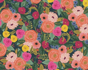 PRESALE: Juliet Rose (navy CANVAS) from English Garden by Rifle Paper Co.
