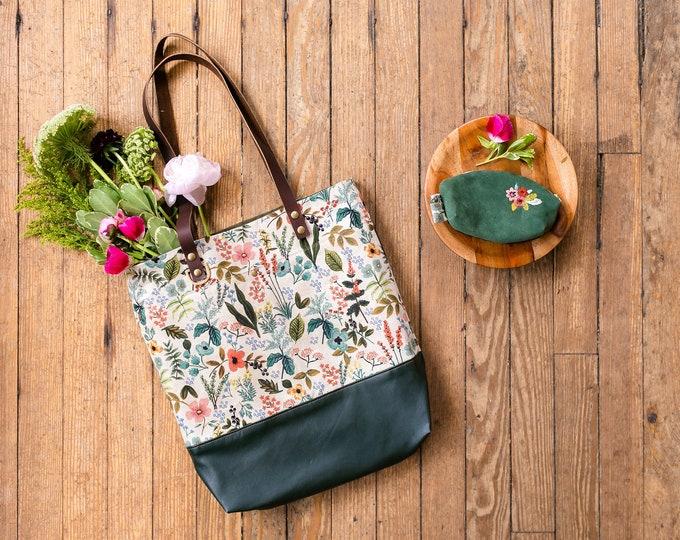 Wool + Wax Tote Kit: Linen Canvas + Moleskin