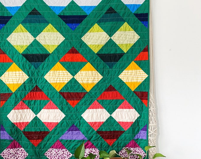 Quilt Kit: NEW HORIZON Quilt by Suzy Quilts