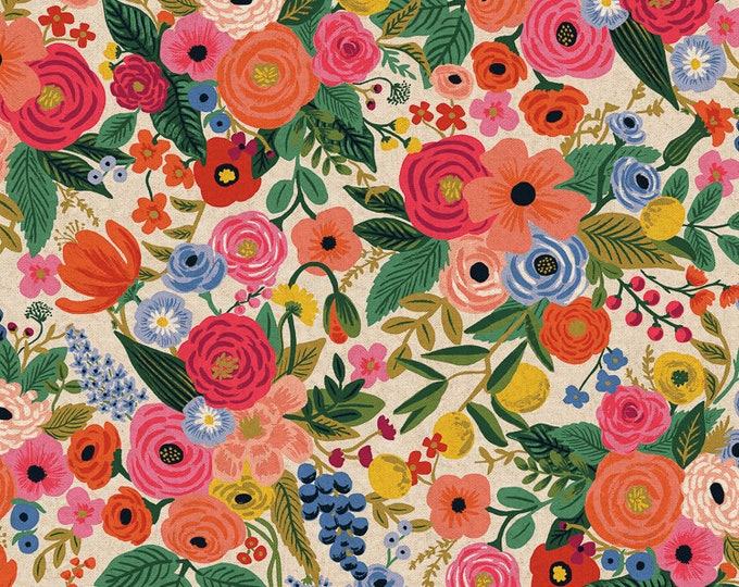PRESALE: Garden Party in Pink Canvas for Wildwood Collection by Rifle Paper Co.