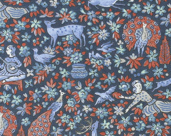 Dancing Stags - Liberty of London Lantana BY THE 1/2 YARD
