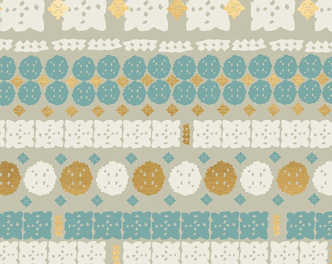 Paper Cuts in Wool from the Candlelight Prints Collection from Ruby Star Society