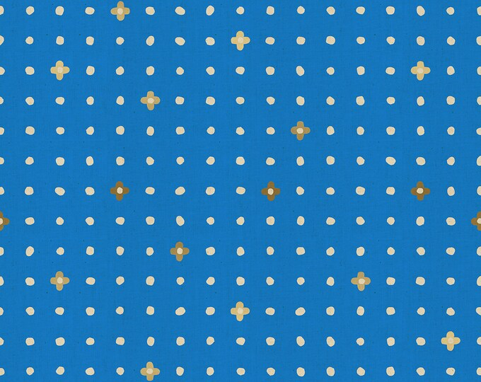 PRESALE: Ohanadotto in Blue (Metallic) for  the Nori + Tori Collection by Cotton + Steel