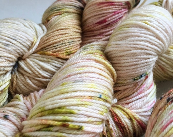 Farmhouse DK in Pressed Flowers by Valhalla Farm Fiber