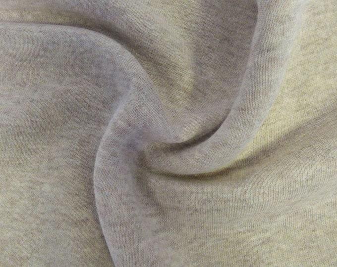 Grayson Sweatshirting in Beige Marl