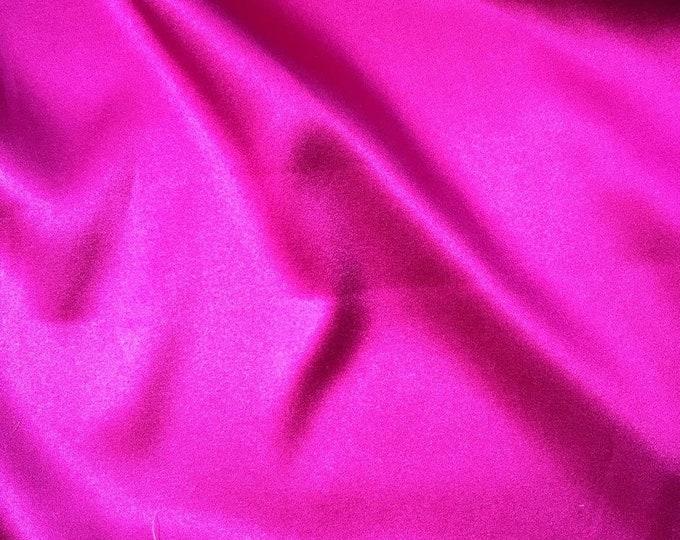 Magenta Silk/Lycra Blend