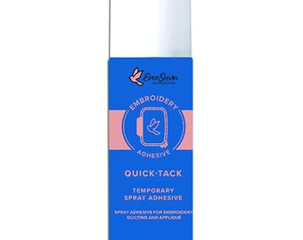 Quick-Tack Temporary Spray Adhesive from Eversewn
