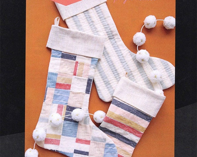 Candlelight Stockings Project Pattern Sheet from Ruby Star Society
