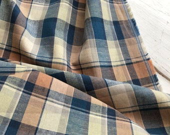 Plaid Yarn Dyed Cotton Woven by KOKKA