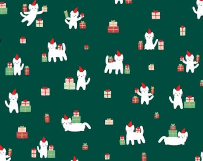 Meowy Christmas- Christmas Darlings- Dear Stella Fabrics