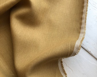 Japanese Linen in Gold  by KOKKA