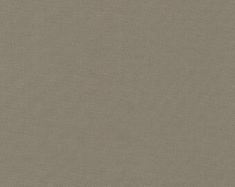 Kona Cotton in Zinc by Robert Kaufman