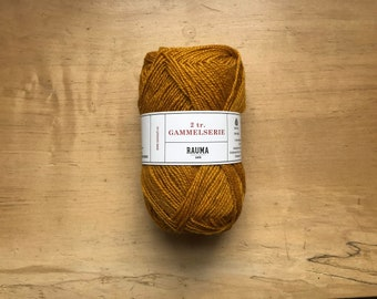2 Ply Gammelserie in Goldenrod by Rauma