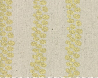 Trails in Linen Gold from the Chill Mochi Collection by Moda Fabrics