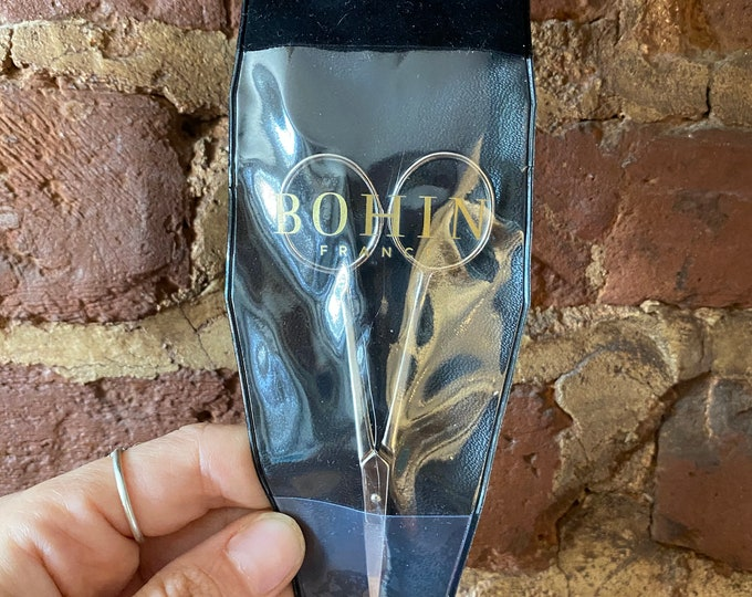 Double Curved Embroidery Scissors from Bohin France - 4""