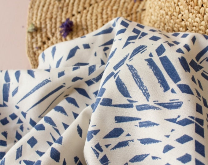 Shade in Cobalt Viscose Fabric by Atelier Brunette