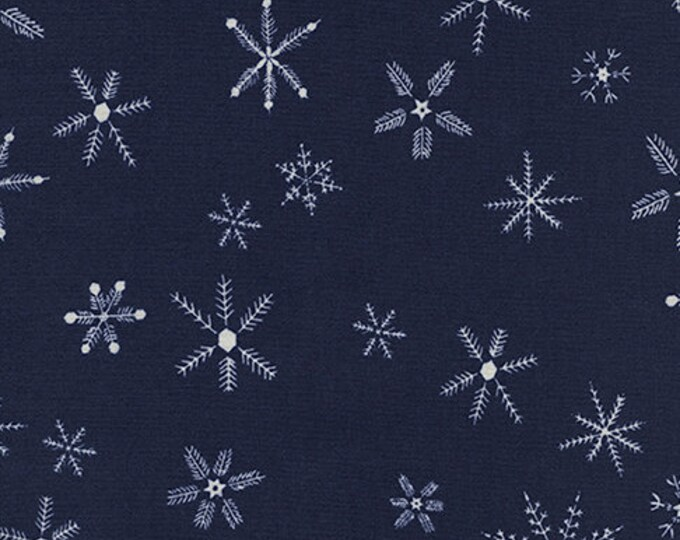 PRESALE: Flurry in Navy by Alexia Abegg for Cotton + Steel