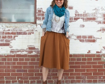 Gypsum Skirt Paper Pattern by Sew Liberated