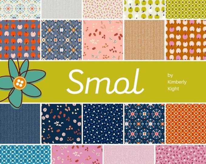 Fat Quarter Bundle from the Smol Collection by Kimberly Kight for Moda Fabrics