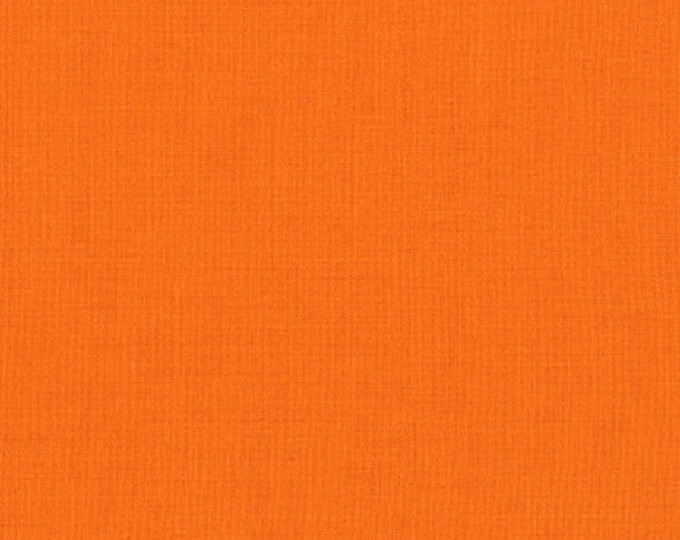 Kona Cotton in Kumquat by Robert Kaufman