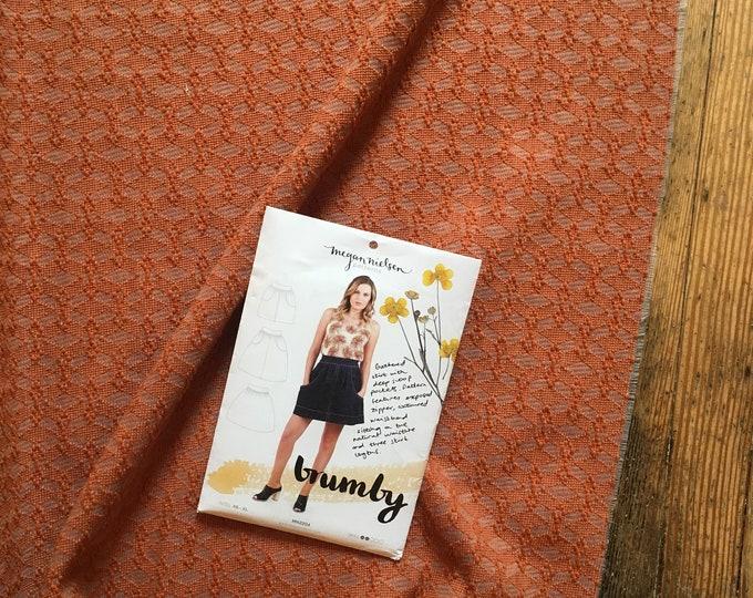Garment Sewing KIT: The Brumby Skirt in Italian Wool Brocade