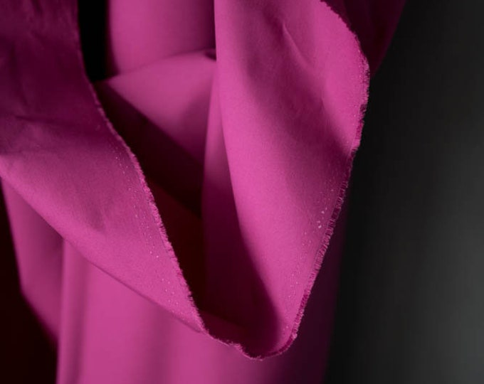 Dry Oilskin in Magenta by Merchant & Mills