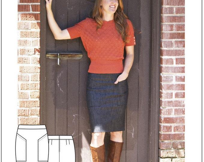 The Alberta Street Pencil Skirt- Sew House Seven