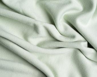 Solid Interlock Organic Knit in Celadon from Birch Fabrics