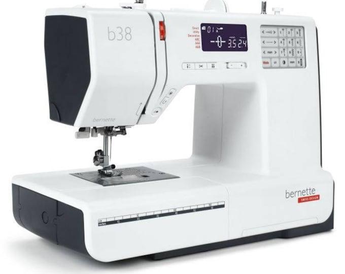 PRE ORDER:  NEW Bernette b38 Sewing Machine