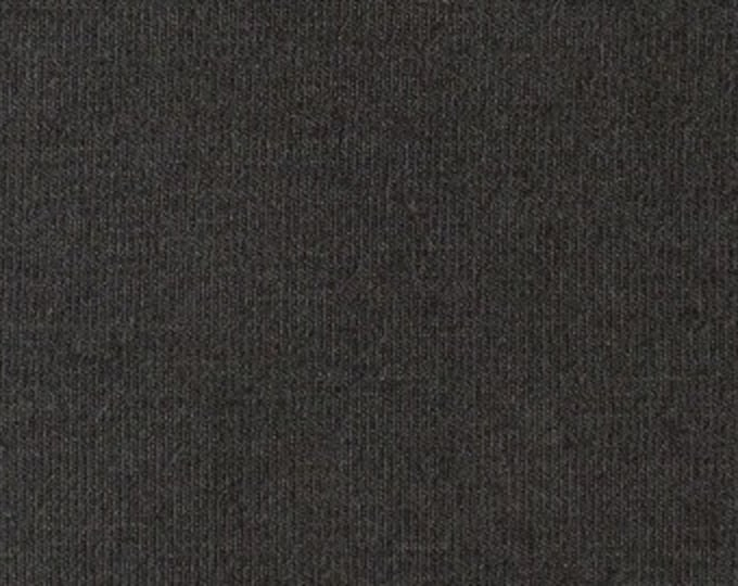 Soy/Org Cotton/Spandex French Terry in Pewter by Pickering
