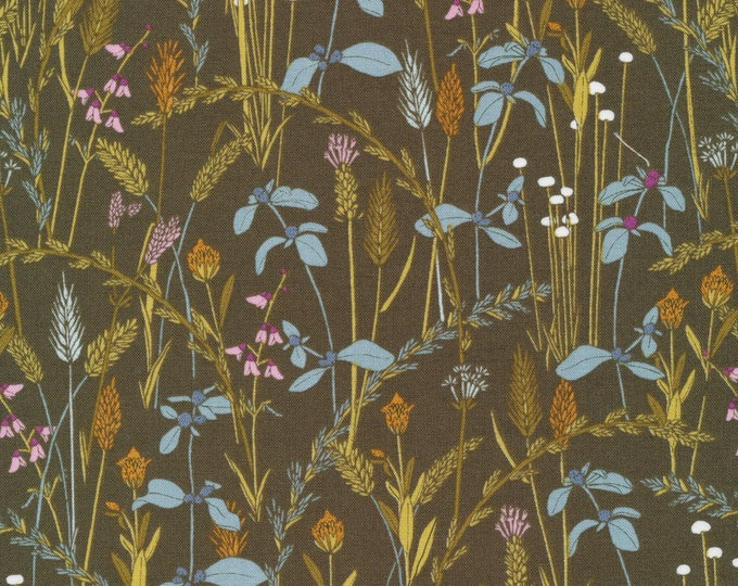 Little Grasses in 100% Organic Cotton from the Grasslands Collection by Cloud 9