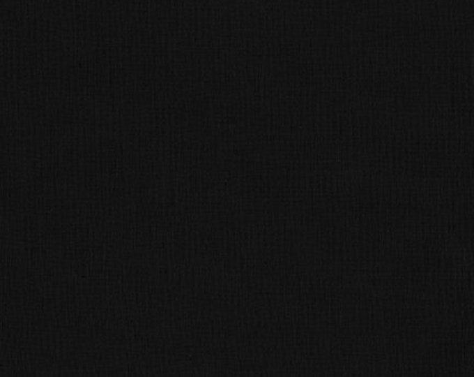 Kona Cotton in Black by Robert Kaufman