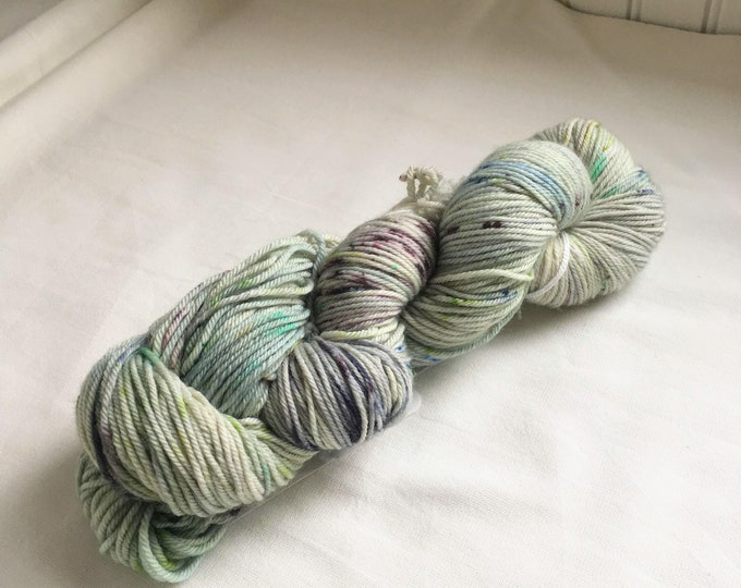 Farmhouse DK in Herb Garden by Valhalla Farm Fiber