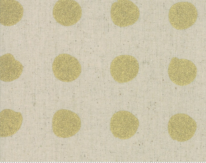 Snowballs in Linen Gold from the Chill Mochi Collection by Moda Fabrics