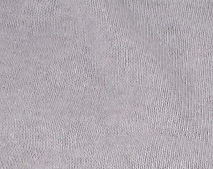 Eco Fleece Hemp Cotton Blend in Gray